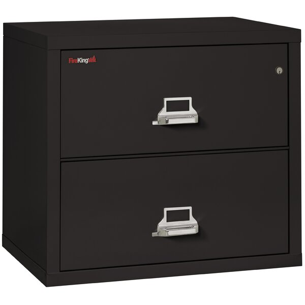 Fireproof 2-Drawer Lateral File Cabinet by FireKing