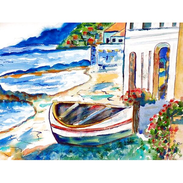 Sicilian Shore Placemat (Set of 4) by Betsy Drake Interiors