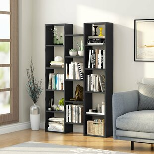 Morden H-shaped Standard Bookcase By LITTLE TREE
