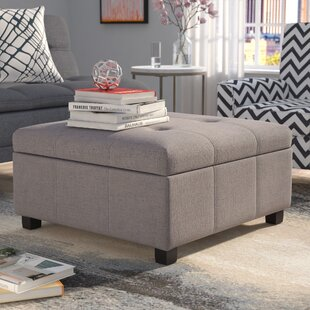 Astonishing Ernestine Storage Ottoman Gmtry Best Dining Table And Chair Ideas Images Gmtryco