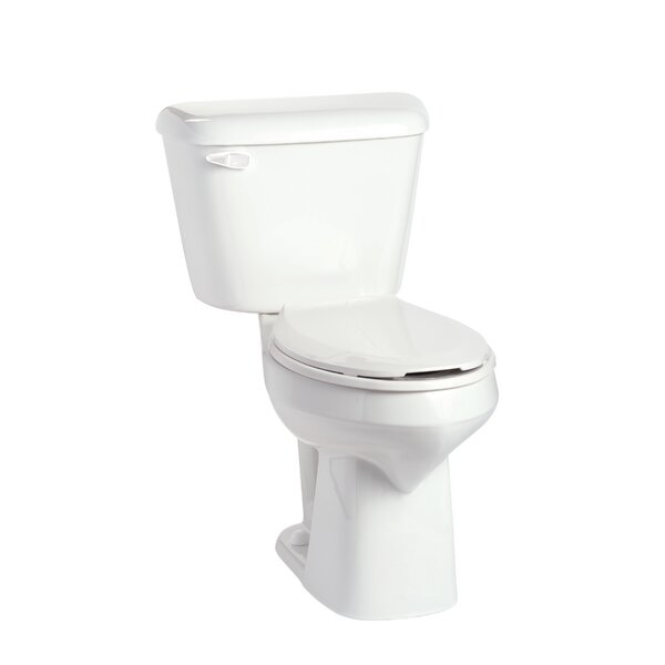 Alto SmartHeight 1.28 GPF Elongated Two-Piece Toilet by Mansfield Plumbing Products