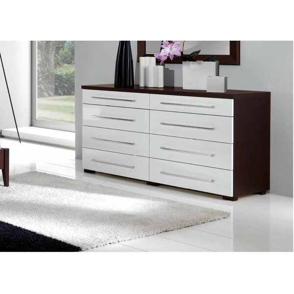 8 Drawer Double Dresser by Noci Design