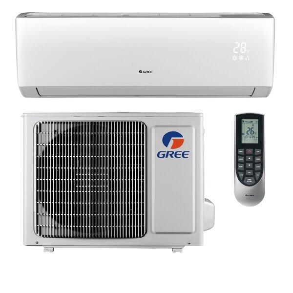 Livo 9,000 BTU Ductless Mini Split Air Conditioner with Remote by GREE
