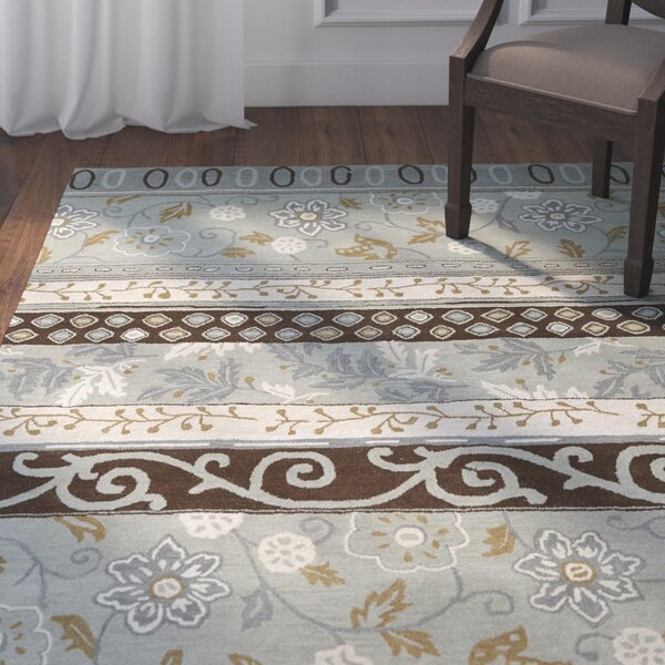 Ginther Grey Area Rug by Darby Home Co