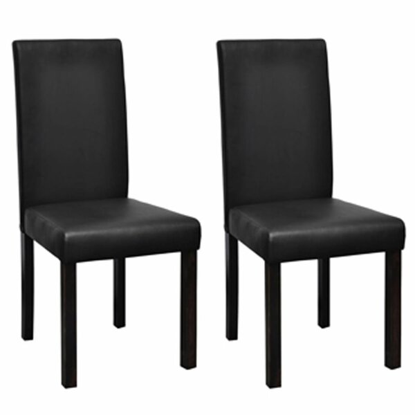 Ginny Upholstered Dining Chair (Set of 2) by Ebern Designs Ebern Designs