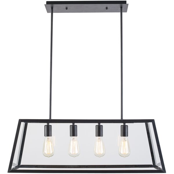 4-Light Kitchen Island Pendant by Light Society