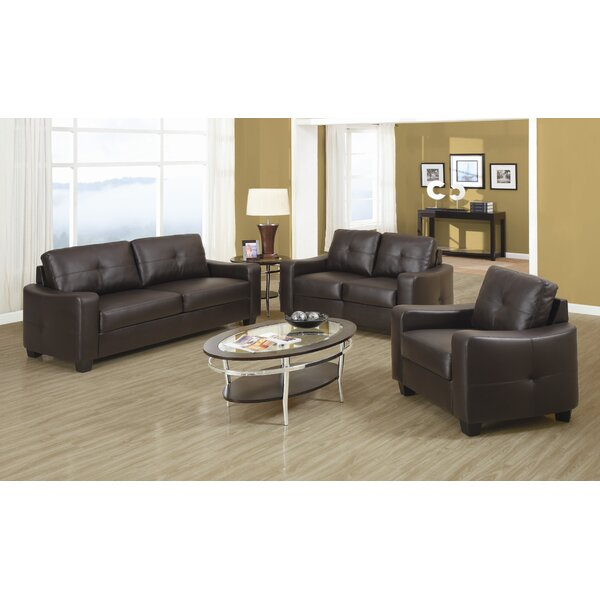 Rahr Leather Configurable Living Room Set by Red Barrel Studio