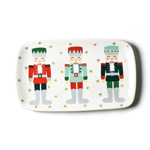 Nutcracker Rectangle Platter by Coton Colors