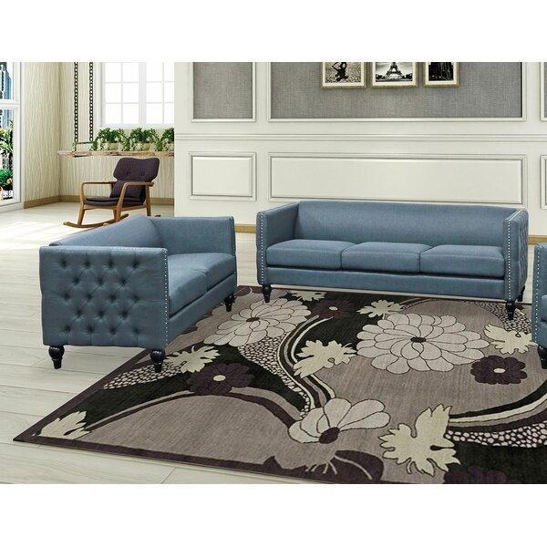 Isenhour 2 Piece Living Room Set by Mercer41