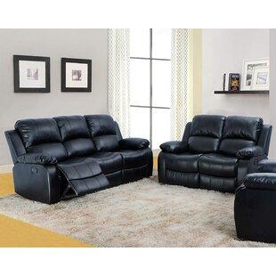 Utz 2 Piece Reclining Living Room Set by Red Barrel Studio®