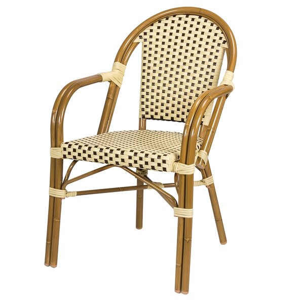 Paris Stacking Patio Dining Chair by Source Contract