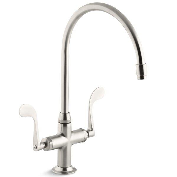 Essex Single-Hole Kitchen Sink Faucet with 9 Gooseneck Spout by Kohler
