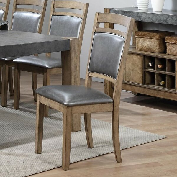 Liska Upholstered Dining Chair (Set of 2) by 17 Stories