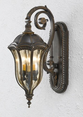 Chesterhill 3-Light Outdoor Wall Lantern by Darby Home Co