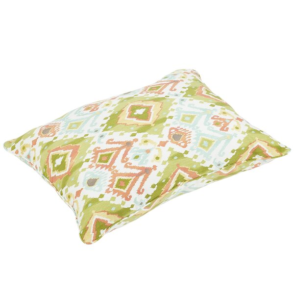 Fealty Indoor/Outdoor Floor Pillow by World Menagerie