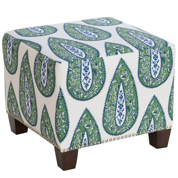 Mansour Cube Ottoman by Bungalow Rose