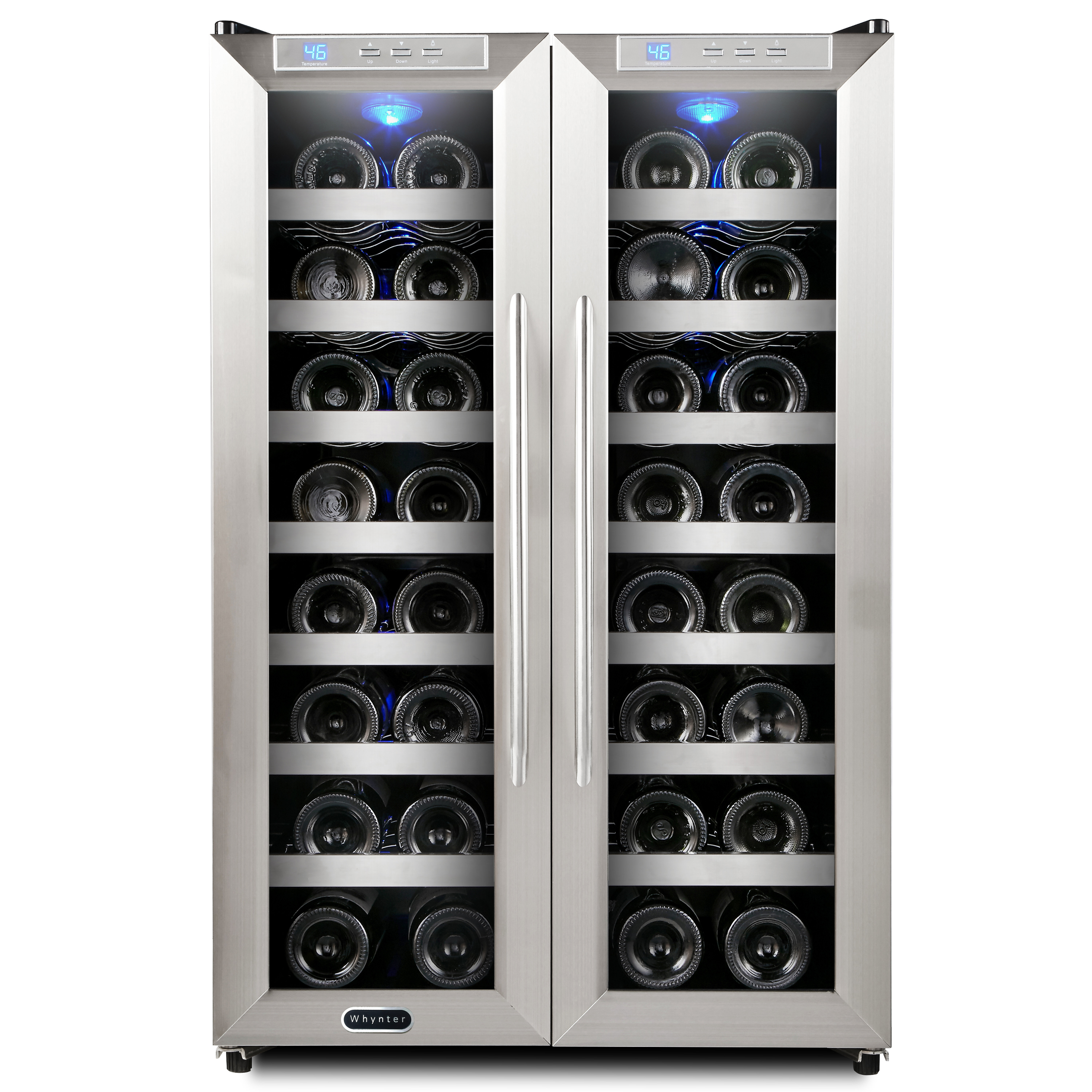 beverage coolers all left countertops shop bottle wine countertop newair compressor cooler refrigerator awr online