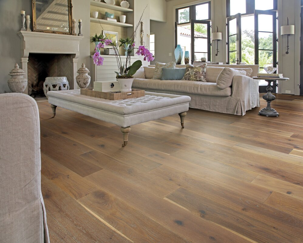 Wide plank hardwood flooring youll love wayfair save to idea board dailygadgetfo Image collections