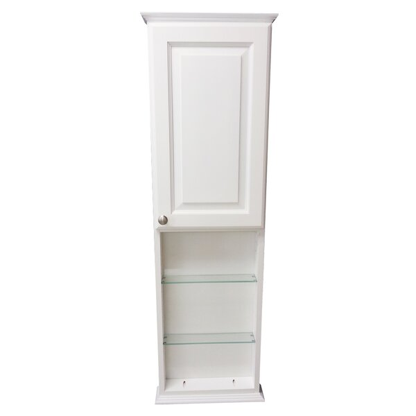 Lancaster Series 15.25 W x 31.5 H Wall Mounted Cabinet by WG Wood Products