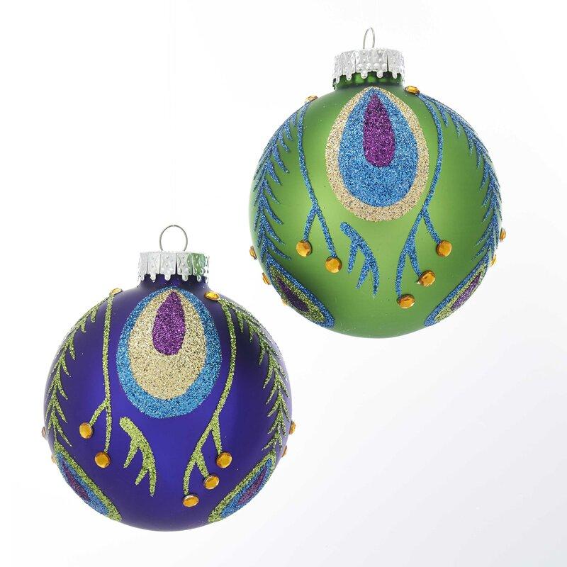 24 Piece Kurt Adler 5-Inch Plastic Glittered Icicle Ornament Set of 24