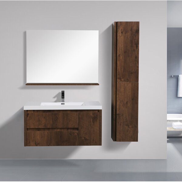 Haenggi 42 Single Bathroom Vanity Set by Ivy Bronx