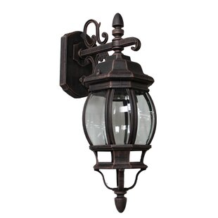 Glyndon 1-Light Outdoor Sconce By Astoria Grand Outdoor Lighting