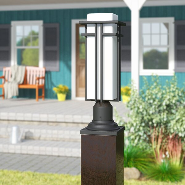 Weitzel Outdoor 1-Light Pier Mount Light by Winston Porter