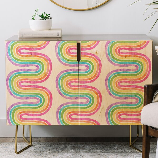 Schatzi Wave Credenza by East Urban Home East Urban Home
