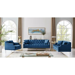 Wabasso Standard Configurable Living Room Set by Everly Quinn