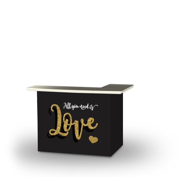 Allisonia Valentines All You Need Is Love Home Bar by East Urban Home