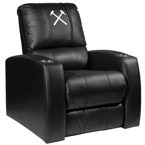 West Ham United Hammers Logo Relax Manual Wall Hugger Recliner By Dreamseat