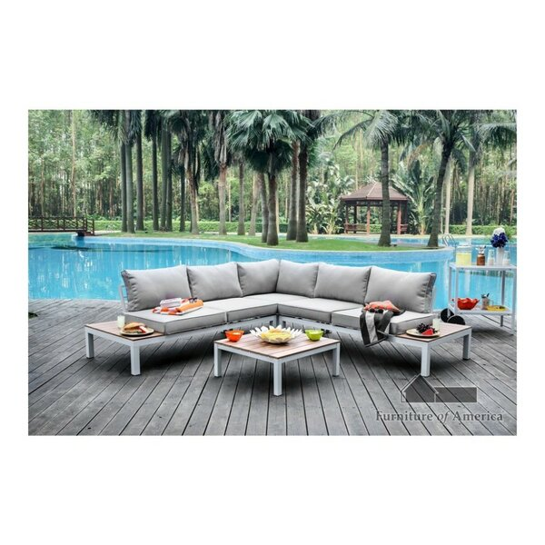 Winona Patio Sectional with Cushions by Williams Import Co. Williams Import Co.