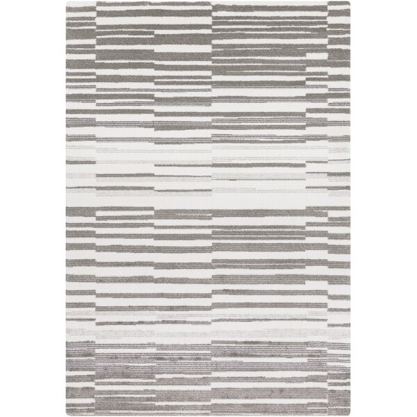 Sky Ivory/Grey Area Rug by Langley Street
