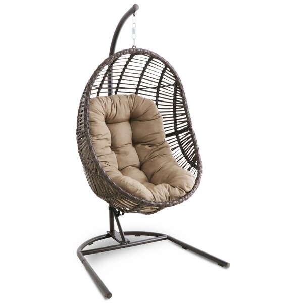 Jerrold Swing Chair with Stand by Bayou Breeze