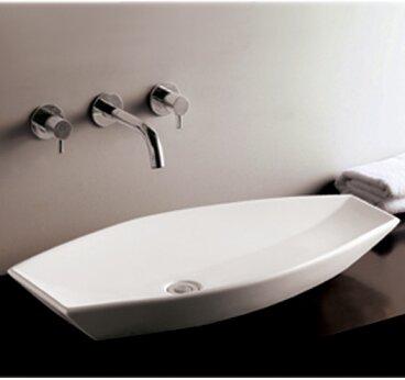 Isabella Ceramic Specialty Vessel Bathroom Sink