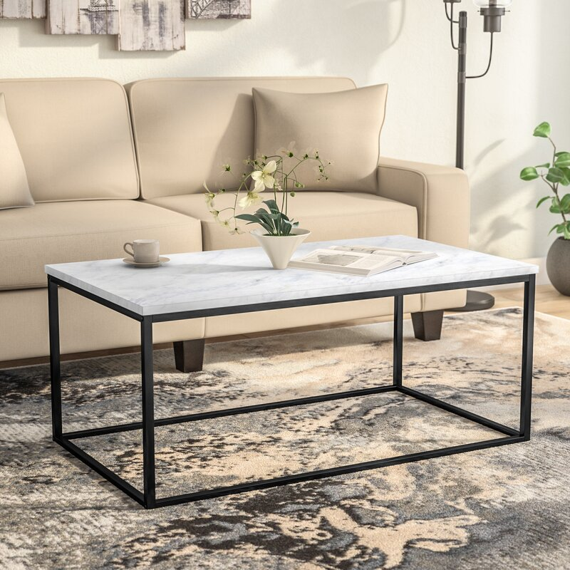 Williston forge arianna coffee table reviews wayfair for Wayfair industrial coffee table