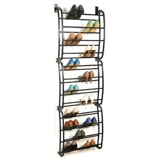 Best 36 Pair Overdoor Shoe Organizer By Symple Stuff