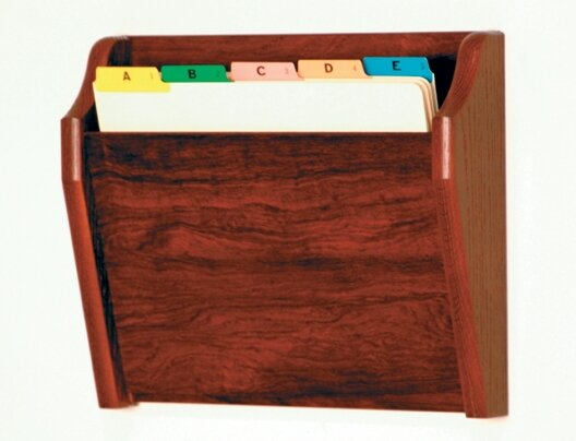 Single Tapered Pocket Chart Holder by Wooden Mallet