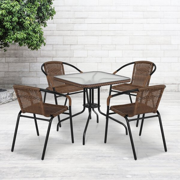 Adrik 5 Piece Dining Set