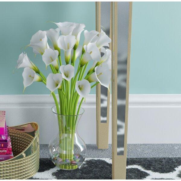 Small Calla Lily in Glass Vase by Willa Arlo Interiors