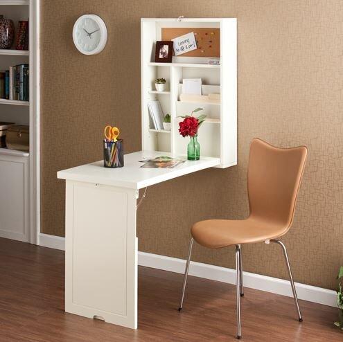 Floating Computer Desk latitude run turrella wall-mounted floating desk & reviews | wayfair