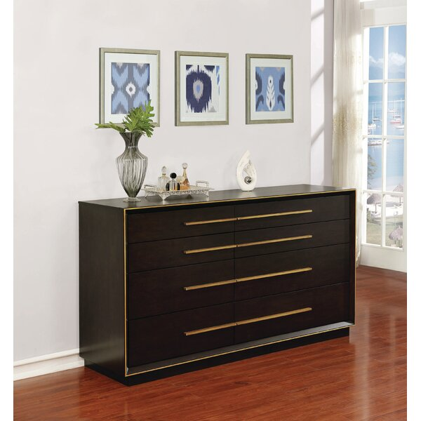 Teme 8 Drawer Double Dresser by Mercer41