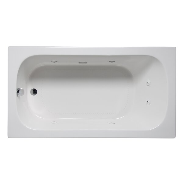 Miro 66 x 32 Drop in Whirlpool Bathtub by Americh