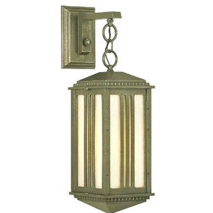 Online Reviews Petrey 1-Light Outdoor Wall Lantern By Alcott Hill
