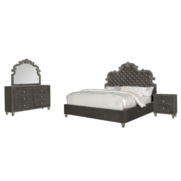 Sciortino Standard 4 Piece Bedroom Set by Astoria Grand