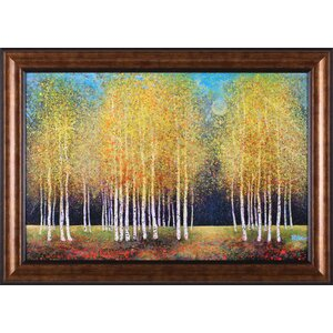 Golden Grove' Framed Painting Print by Charlton Home