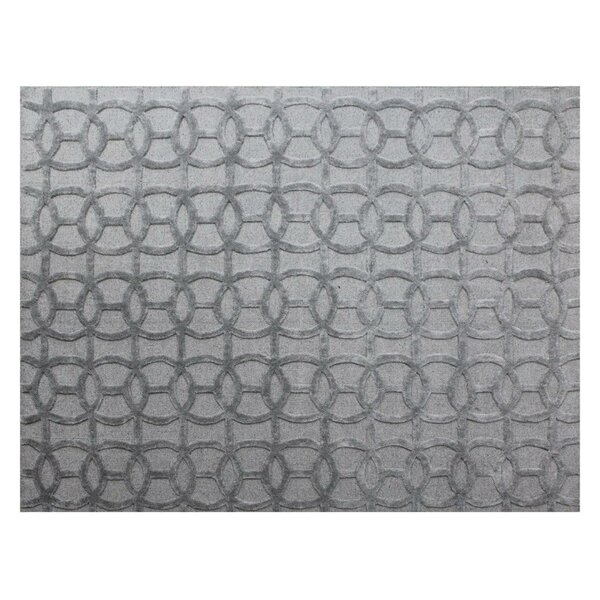 Windsor Hand-Woven Wool Gray Area Rug by Exquisite Rugs