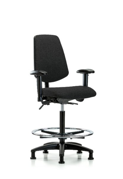 Taniya High Bench Ergonomic Office Chair by Symple Stuff