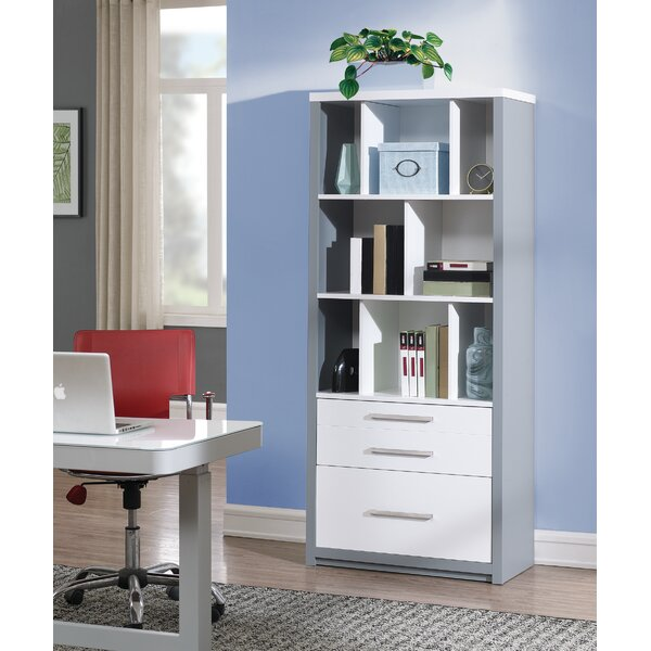 Rivas Standard Bookcase By Ebern Designs