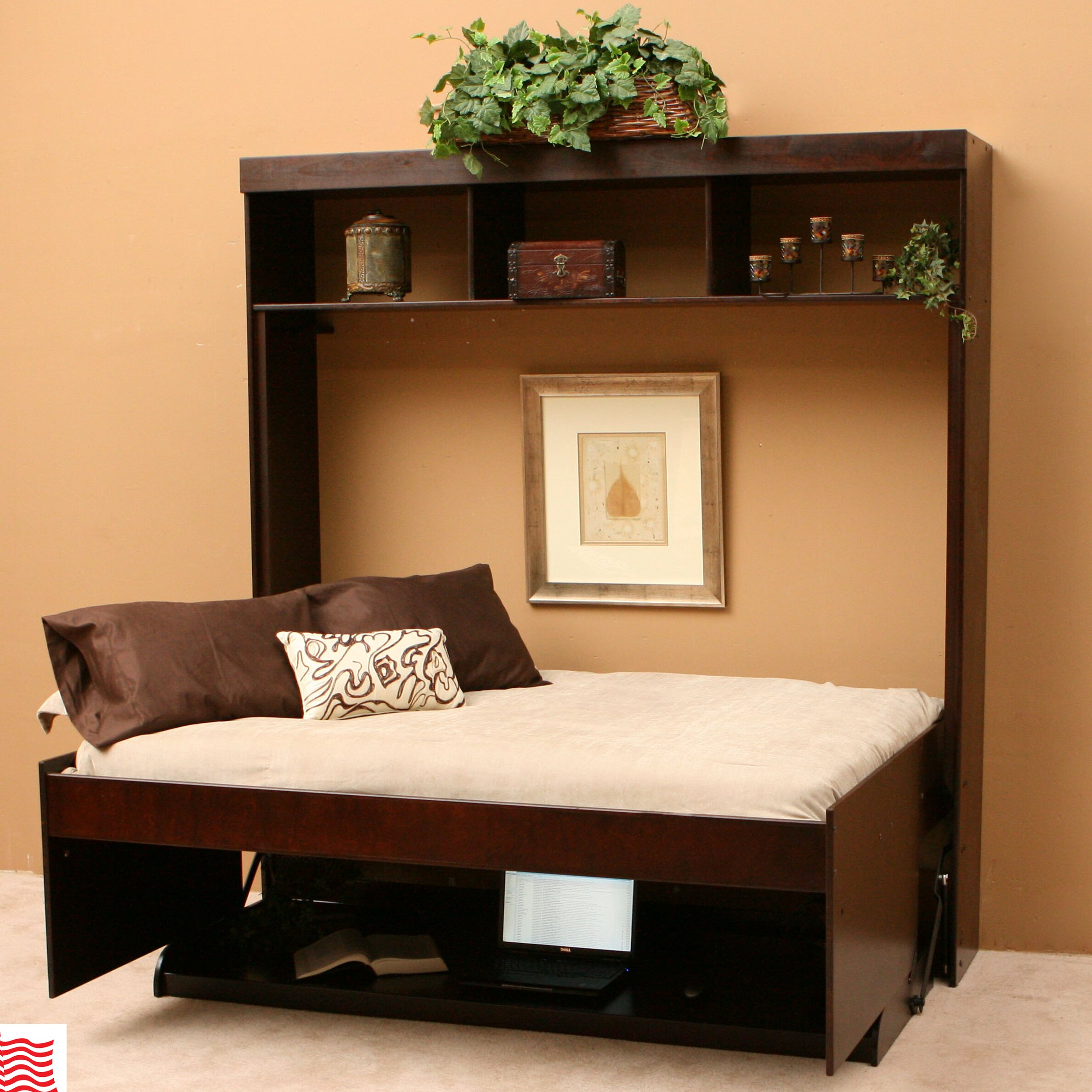 Designer Furniture Warehouse Columbus Ohio: Wallbeds Modern Birch Murphy Bed & Reviews